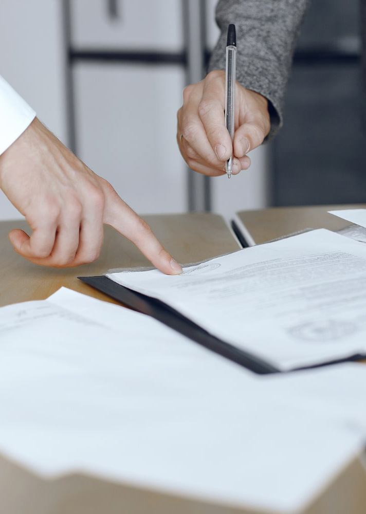 small claims court paper signing